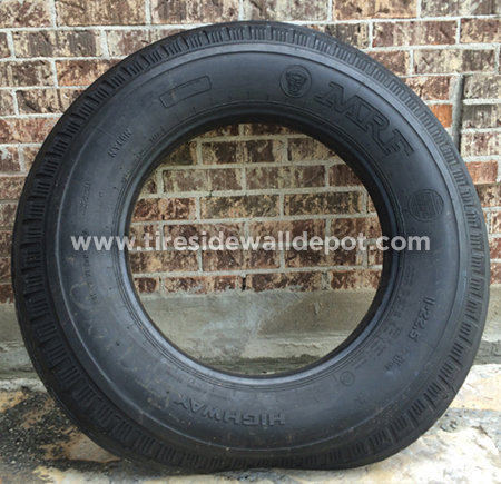 100% Nylon, Bias Ply Solid Primo Truck-Tire Sidewalls